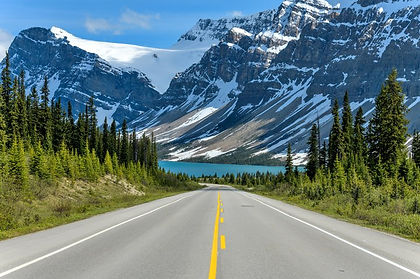 Alberta's Banff, Lake Louise and Kananaskis Country - postcard perfect destinations at the heart of the Canadian Rockies.  Explore all three by bicycle and on foot.  Hike to alpine meadow with epic views, ride downhill on Canada's highest paved pass, see spectacular Victoria Glacier and the emerald waters of Lake Louise. and enjoy rafting, hiking, or horse-back riding in Kananaskis Country.
