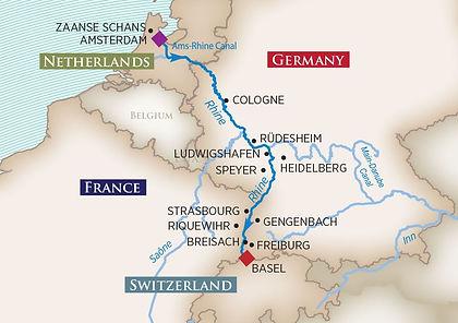 Netherlands, Germany, Switzerland, France