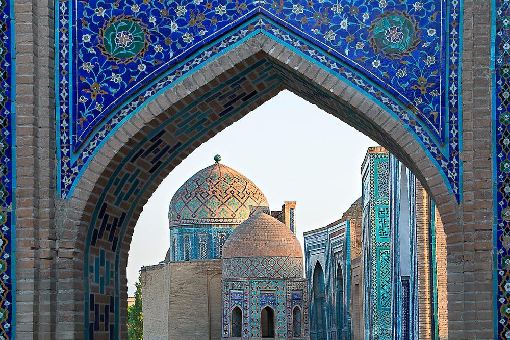 Travel the Silk Road to Samarkand, Uzbekistan