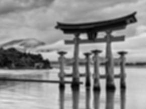 travel to the torii gate on the island of Miyajima  is but one of the highlights of travel to Japan.  Others include   Tokyo, Nikko,   Hakone, ryokans, Japanese Alps,   Kyoto, Nara,   Koya-san ,   Himeji Castle ,   Naoshima,   Hiroshima,   Yakushima & Kirishima-Yaku National Park