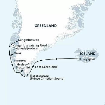Greenland, Iceland