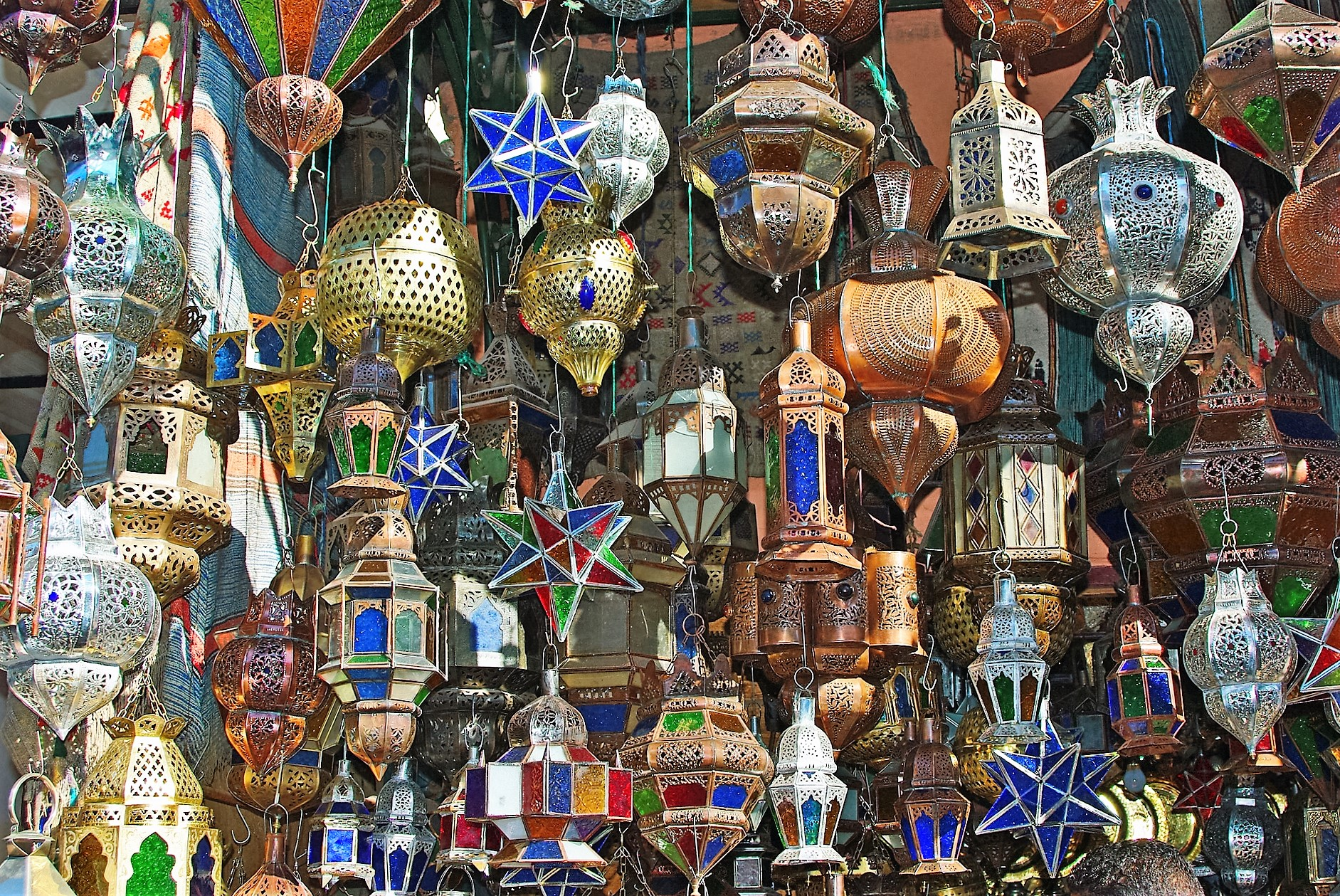 marrakech - lanterns