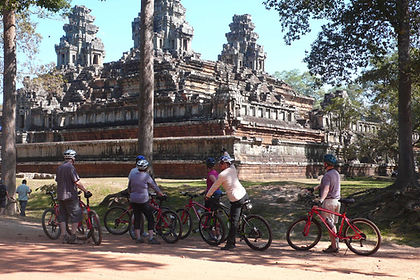 Ride through beautiful South East Asian countryside, from the capital of Thailand to the famous temples of Angkor.  Continue to Cambodia's capital Phnom Penh and on to the Mekong Delta, a picturesque area of ride paddies, waterways and forgotten villages.  End your trip in the hustle and bustle of Saigon (Ho Chi Minh City), Vietnam's largest metropolis.