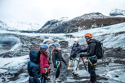 Nature in Iceland is designed to make you feel small - volcanoes covered by ice loom over a verdant green coastline, glaciers grind their way to the ocean, geysers erupt and the northern lights dance in the sky.  This adventure tour of Iceland has you discover all of this and more!