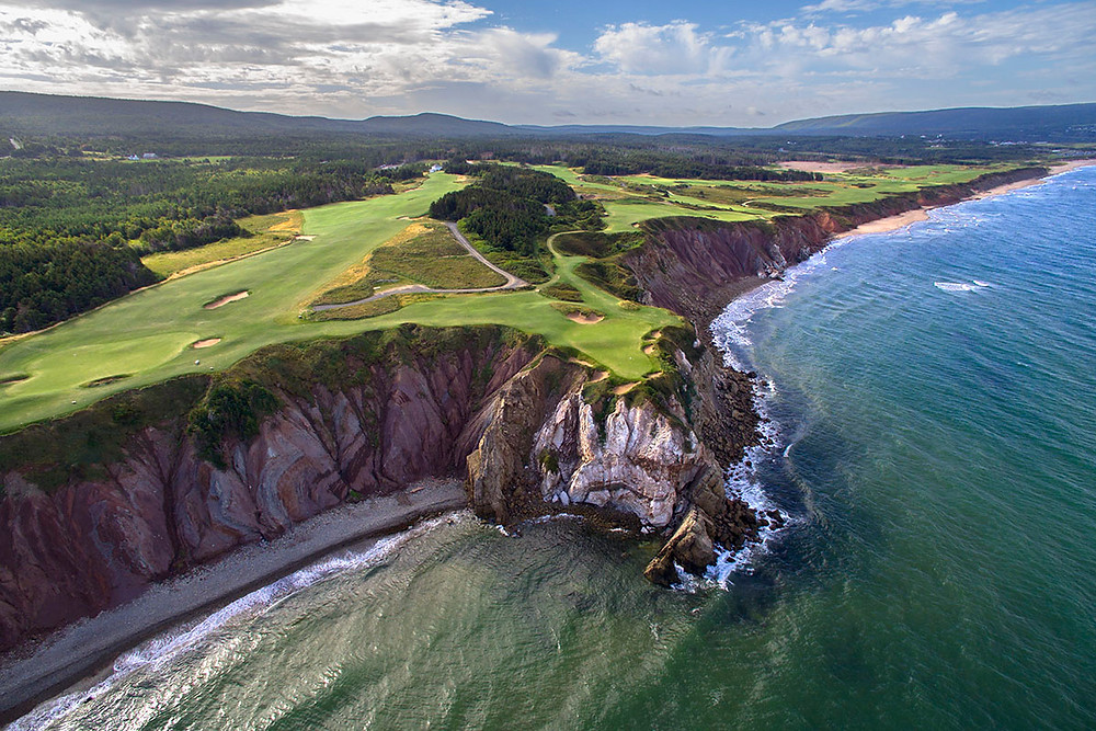 Photo courtesy of Cabot Cliffs Golf Course