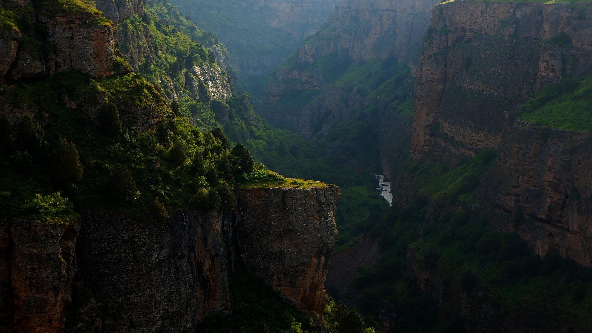 Canyon, Kazakhstan
