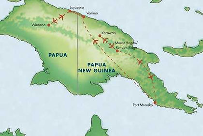 Papua New Guinea, Indonesia