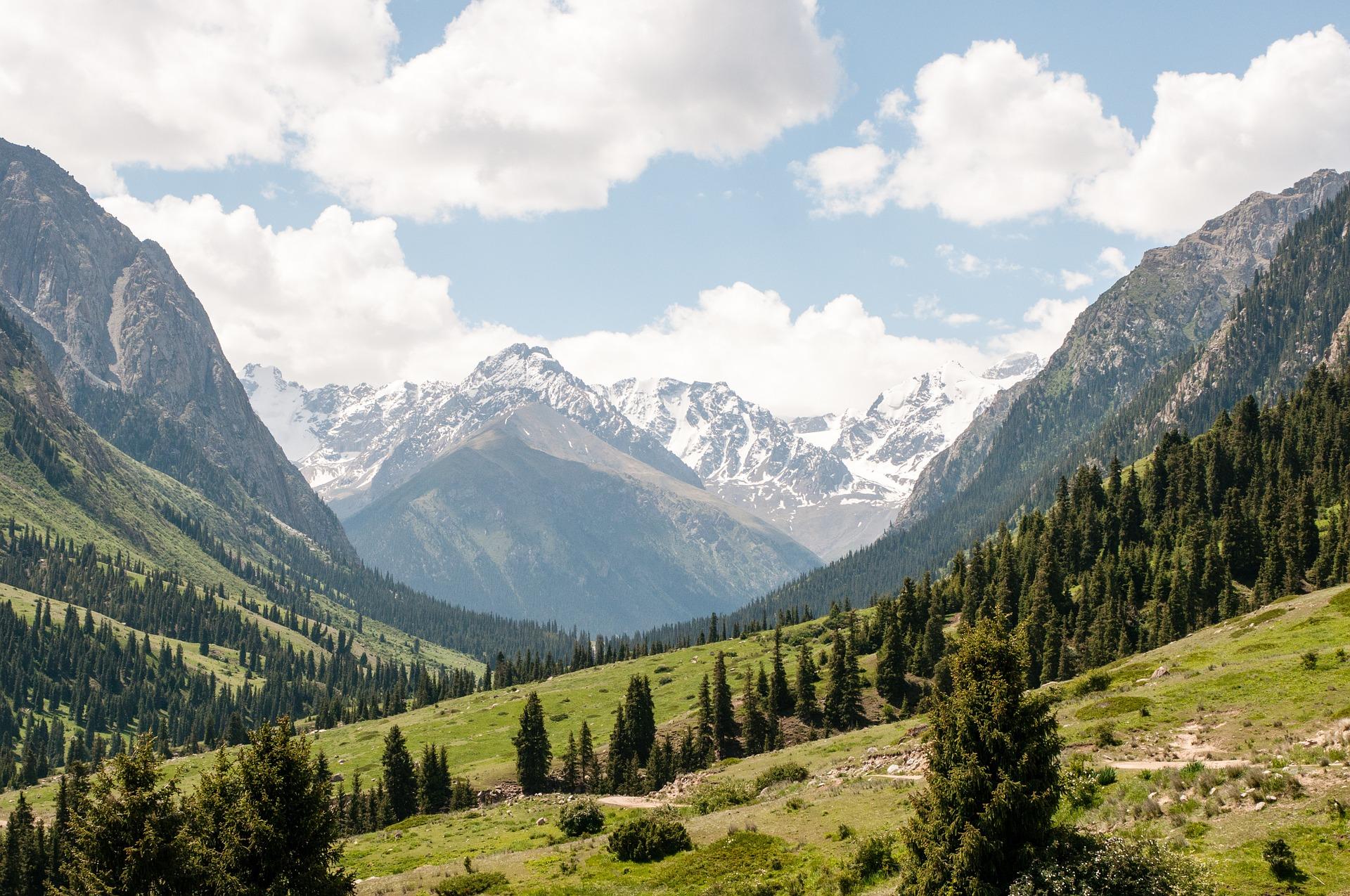 Mountains, Kyrgyzstan