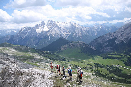 Walk the best trails of the Dolomites in Italy and see the stunning scenery this area is known for while staying in a comfortable centrally located hotel.  Some dates offer moderate walks while other dates offer more challenging walks.