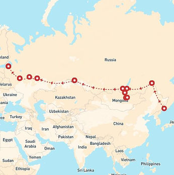 Russia, Mongolia