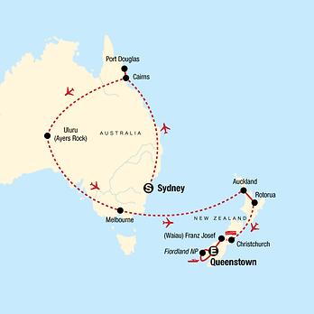 Australia, New Zealand