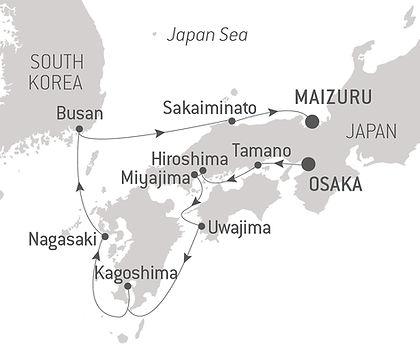 Japan, South Korea