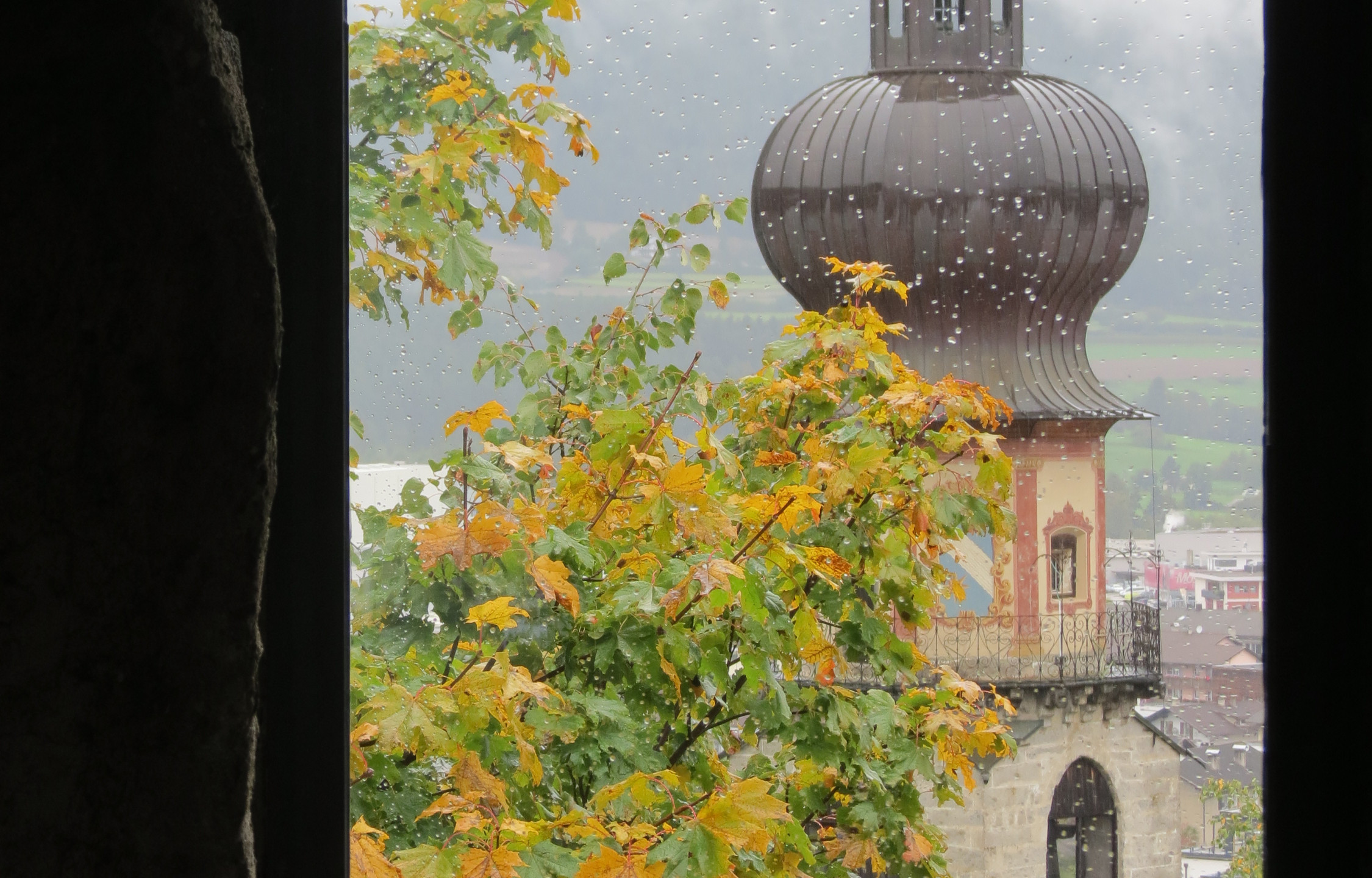 Rainy day outing to Bruneck