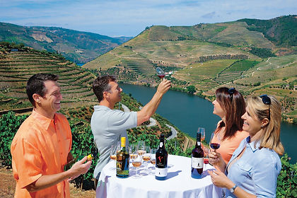 The terraced vineyards of Portugal's Douro Valley invite you to visit wineries and taste the sweet, fortified wine, Port, or the intense red Barca Velha.  On this return sailing between Porto and the western region of Spain you will enjoy the beautiful scenery of one of Europe's best-preserved riverscapes.