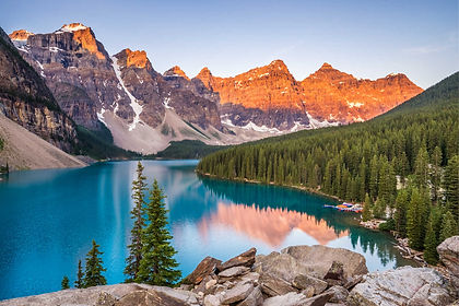 Canada's Rockies at their best!  From pretty Vancouver, travel up to Sea to Sky Highway to Whistler and on to Wells Gray and Jasper.  Continue on the Icefields Parkway to Yoho National Park, Lake Louise, Banff and Calgary.  On this journey through British Columbia and Alberta there is plenty of time to engage in exciting activities from taking in viewpoints, to hiking, gondola and helicopter rides, cycling, zip-lining, mountain biking, a guided glacier hike, white water rafting, canoeing or visit a hot spring.