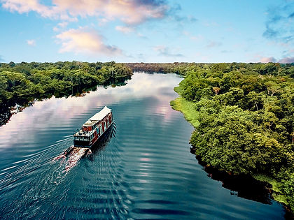 Sail into the Amazon headwaters in Peru on this 8-day luxury expedition-style cruise.  Discover the hidden lakes and lagoons of Pacaya-Samiria National Reserve and the two Amazon tributaries that flow through it, the Marañon and Ucayali rivers.  Spot rate pink Amazon dolphins, kayak, canoe and swim in pristine waters and visit remote settlements to learn about local culture.  Your experienced guides will teach you all there is to know about flora, fauna and life in the Amazon.