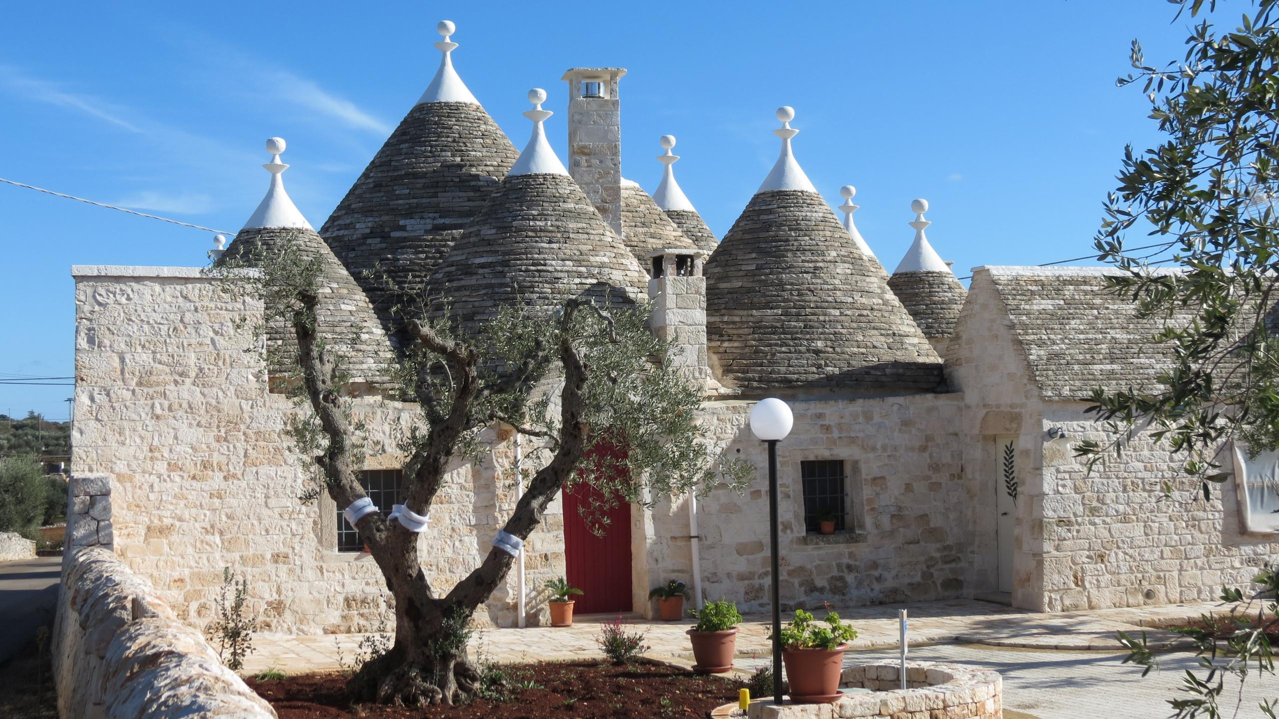 Trulli, traditional homes in Puglia