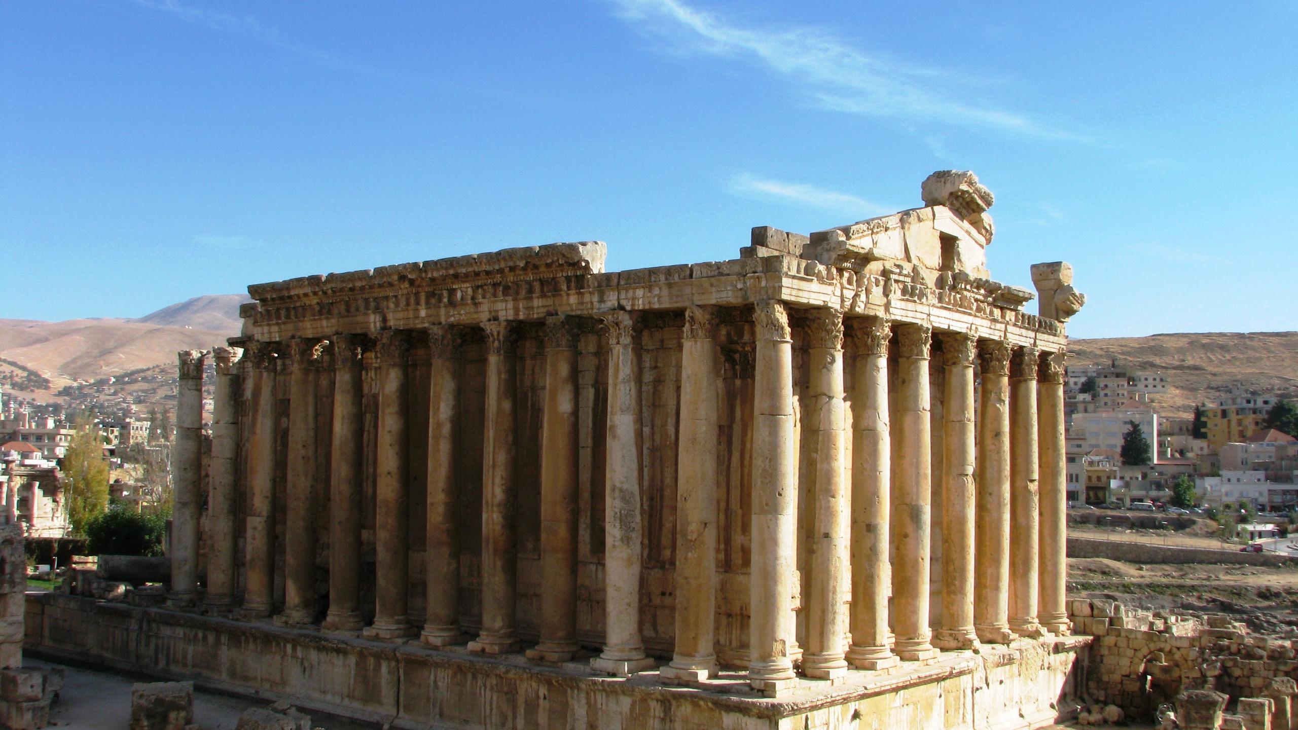 Baalbek Temple of Bacchus Lebanon