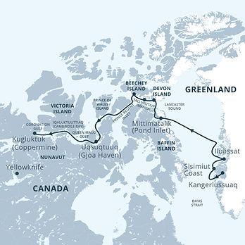 Canada, Canadian Arctic, NT, NU, YT