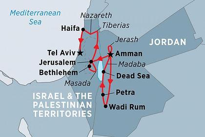 Jordan, Israel