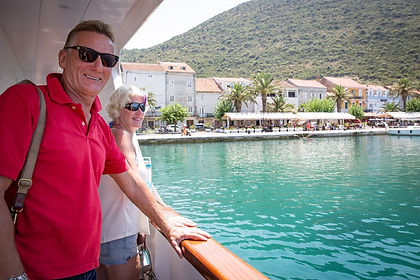 Endless Roman ruins, romantic Venetian towns and Byzantine churches. Sun-bleached hills descending to cobalt blue seas, which in turn straddle a coast dotted with picturesque isles. Cruising Croatia's Dalmatian Coast between Dubrovnik and Split on a small cruise boat allows you to get to places larger ships cannot go - like the glorious old town of Korčula on the island by the same name.  Small sandy beaches, hidden coves, wineries that make world-class white wines, olive groves and sleepy villages await you in Croatia, along with trips inland to the gorgeous waterfalls of Krka National Park and a river trip to Mostar in Bosnia & Herzegovina.