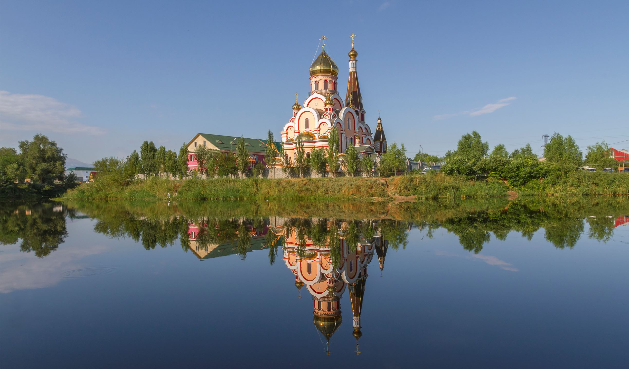 Russian Orthodox church, Central Asi