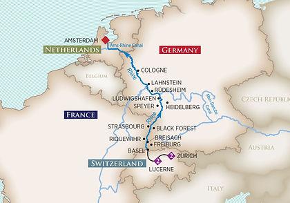 Netherlands, Germany, France, Switzerland
