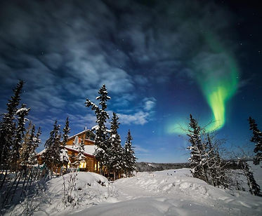 Spend two nights at the remote Blachford Lake Lodge in the Northwest Territories where you can engage in activities such as snowshowing, cross country skiing, hiking, igloo building, quinzhee building, wildlife tracking, ice fishing, fat tire biking, skating and hockey and of course Aurora viewing.    Begin and end your trip with a night in Yellowknife.