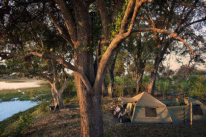 Imagine a safari only the explorers of an era gone past would have experienced.  Sleep in a proper bed, under canvas, with washroom facilities all your own.  Guided by an expert safari guide you will travel in a group of no more than six guests through the Botswana wilderness, exploring such gems as Chobe, Savute, Moremi and the Okavango Delta.   Witness the largest concentration of elephants in Africa, enjoy a boat ride on the Chobe River, see predators such as lion, African wild dog, leopard and spotted hyena and game such as kudu, lechwe, hippo and giraffe.  This is a safari Hemingway would be jealous of.