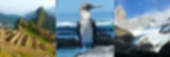 Travel to Machu Picchu Peru, Galapagos, Patagonia