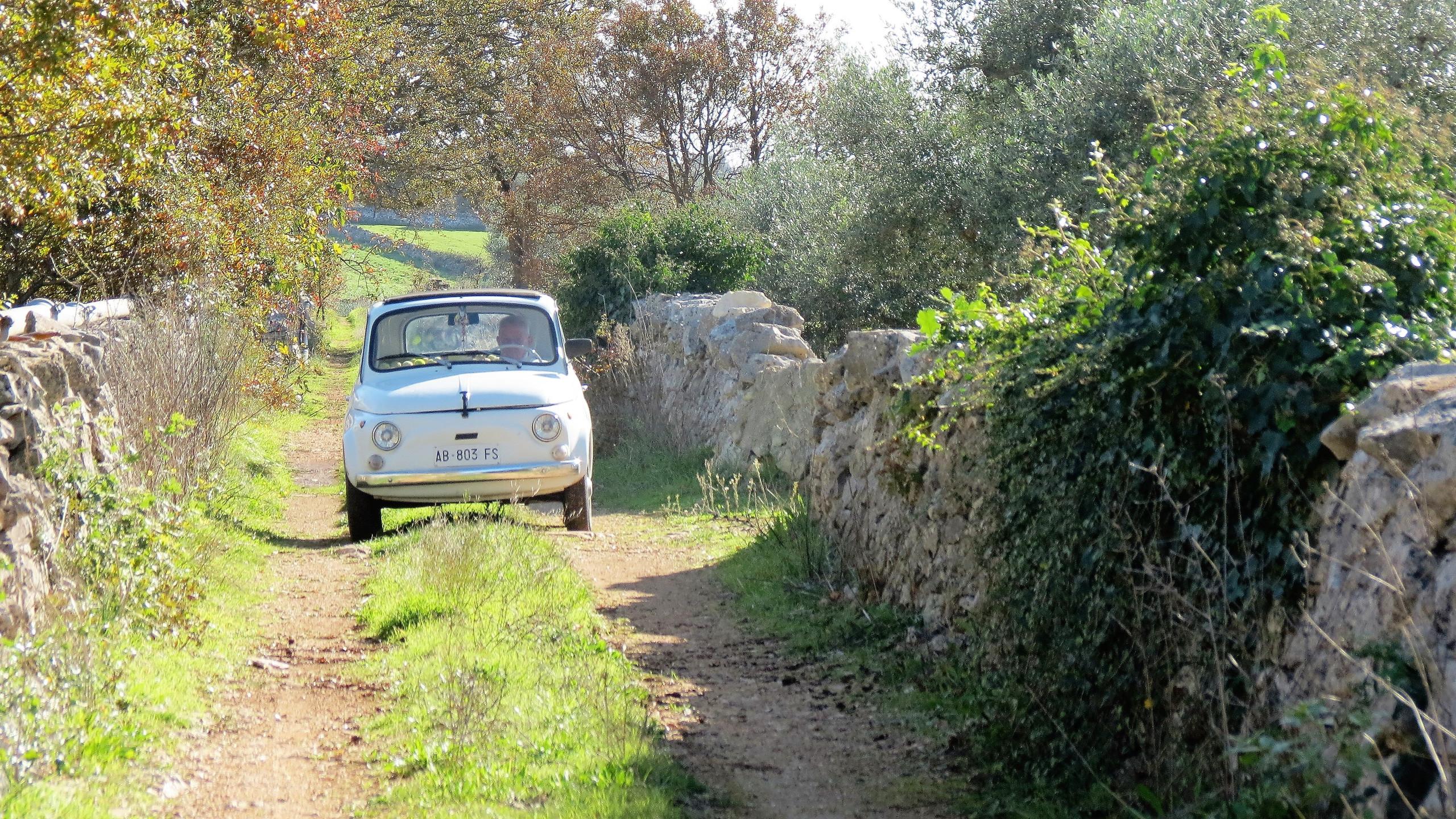 Not a 4WD - walking in Puglia