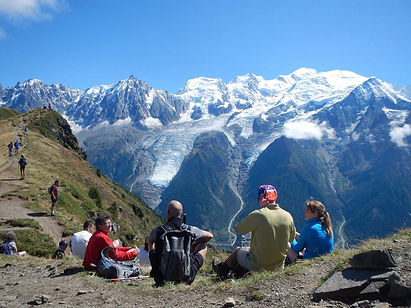 Walk the best sections of the Mont Blanc Circuit while staying in a comfortable mountain chalet