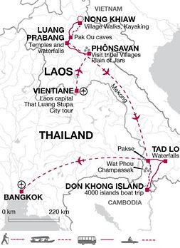 Laos, Thailand