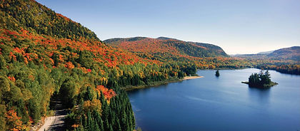 The Laurentians are host to gorgeous lakes, deep forests and small communities, once connected by rail.  Now you can cycle the rail trail on a leisurely 200 kms ride through this wonderful area.  Don't forget to fill your picnic basket with some of the great cheese and wine available at local stores!