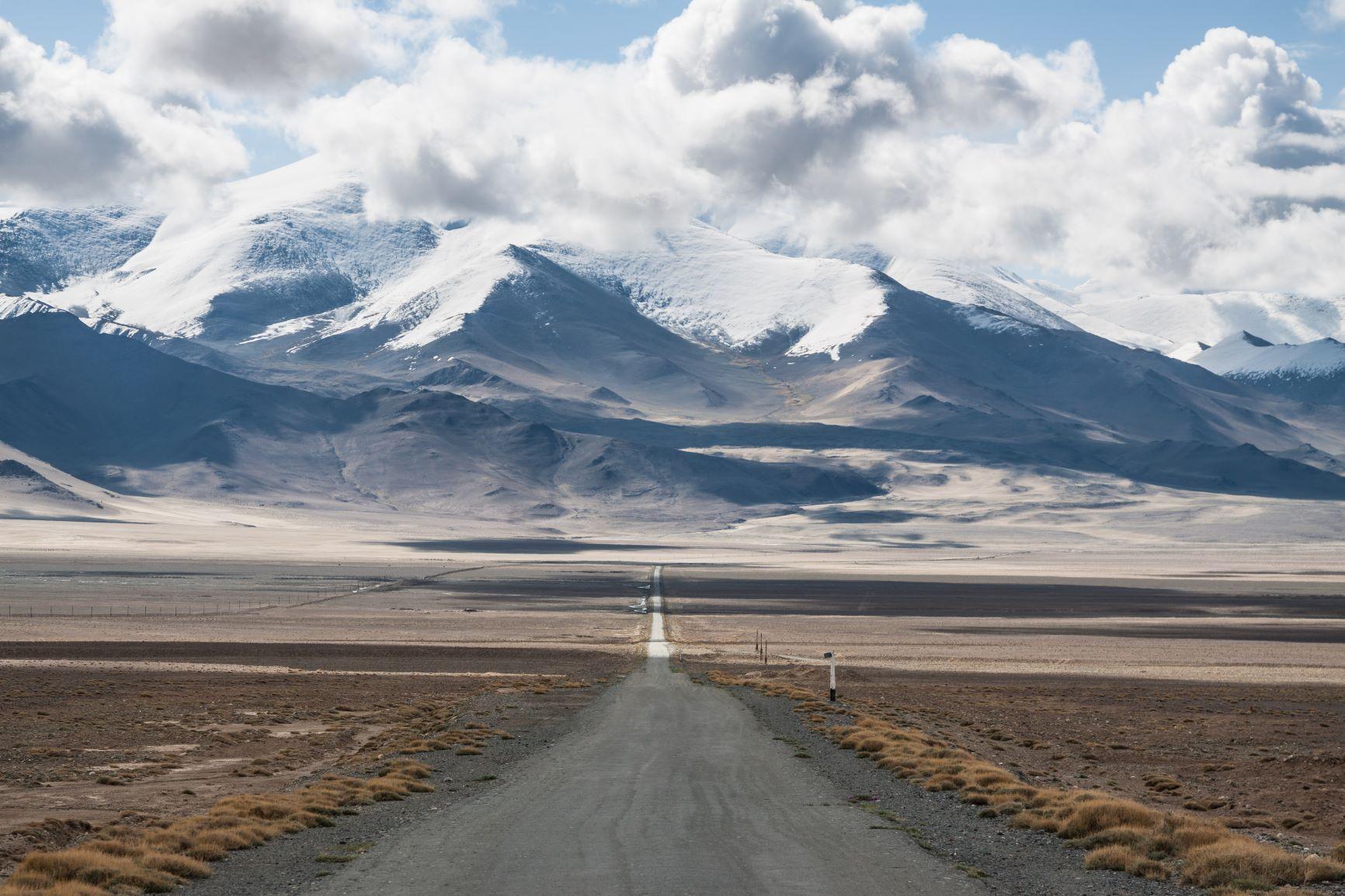 The Pamir Highway in Tajikistan