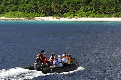 Coral reefs with amazing snorkelling, mangroves, stunning beaches, fantastic birdlife and giant tortoises - all this and more awaits you on this adventure cruise in the Seychelles.