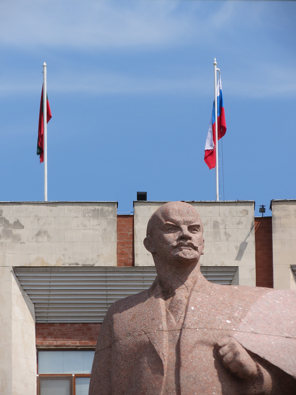bust of lenin tiraspol transnistria eastern europe
