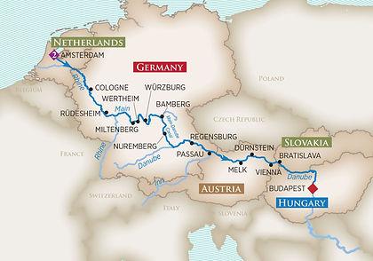 Netherlands, Germany, Austria, Slovakia, Hungary