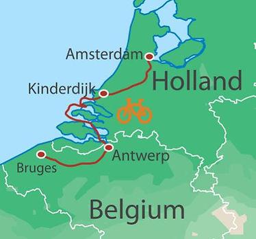 Netherlands, Belgium
