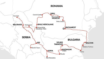 Serbia, Romania, Bulgaria