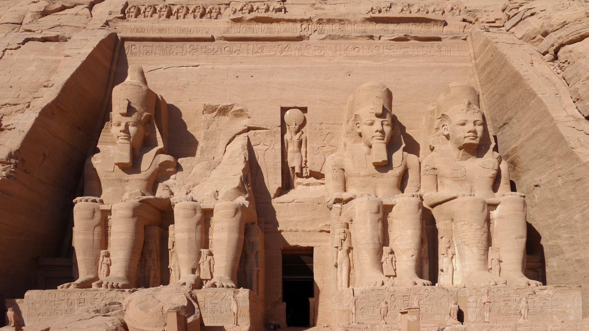 Abu Simbel, Nile Valley, Egypt