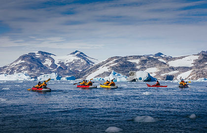 This adventurous expedition cruise will give you a great mix of all the Arctic has to offer - the history of Franklin's expedition in Canada's Northwest Passage, including Beechey island, incredible wildlife such as walrus haul-outs, polar bear, whale and birdcliffs and the beautiful glaciers, fjords and mountains of Western Greenland.  Top it off with visits to Inuit communities and you have a very well-rounded Arctic cruise.