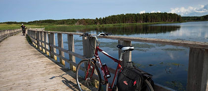 Canada's Prince Edward Island is lovingly nicknamed the Garden of the Gulf for good reason.   Fertile farmland, made famous in the books of Lucy Maud Montgomery, stretch the length and width of the island. Oceanside you will find gorgeous sandy beaches while all around you will encounter friendly locals who can point you to the nearest spot to enjoy a lobster dinner.  PEI truly is a cyclist's dream.