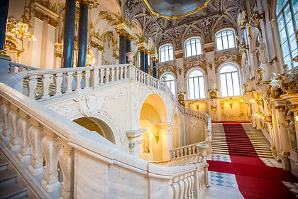 Travel to Russia on this luxury tailor-made journey covering the cities of Moscow and St Petersburg in amazing detail.   In Moscow you will visit not only the Kremlin's cathedrals, State Armory, Red Square and St. Basil's Cathedral but also several museums, including the Tretyakov Gallery. After a high-speed train journey to St. Petersburg, you will get to know this city intimately.  Visit the Hermitage Museum, Catherine Palace and Peterhof along with lesser known sites like the St. Isaac's Cathedral and Yusupov Palace. As with all our private tours, this sample itinerary can be completely tailored to create the perfect journey of discovery for you.