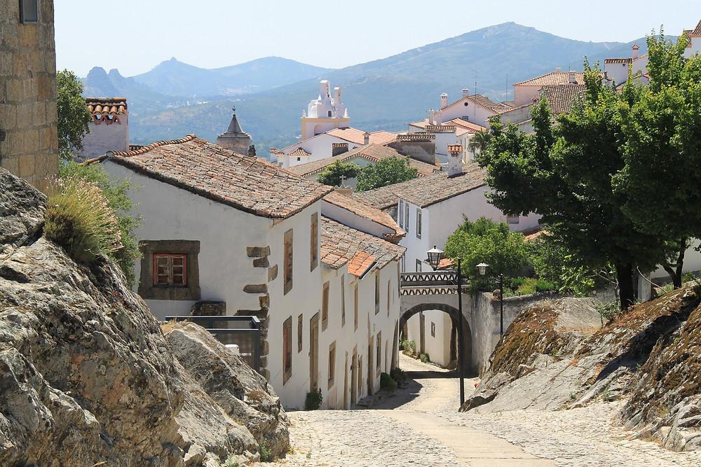 Quiet village in the Alentejo, Portugal