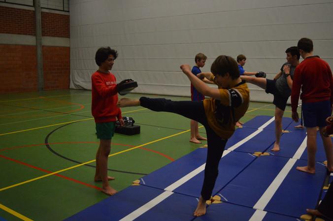 Nieuw op internaat: Taekwondo onder leiding van Ahmad