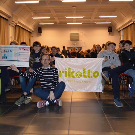 Bedanking voor de vrijwilligers van de verkoop voor Rikolto.