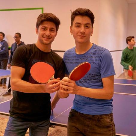 Winnaar ping-pongtornooi 1ste graad