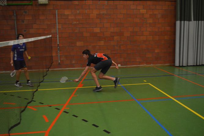 Badmintontornooi op internaat