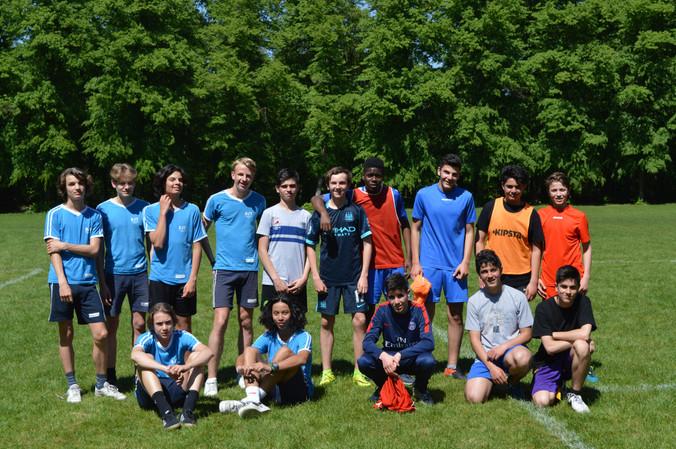 Voetbalwedstrijd OKAN-SJT